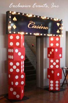 Vegas casino, las vegas party, havana nights party, vegas theme, casino n. Las Vegas Party, Vegas Theme, Casino Night Party, Casino Party Decorations, Casino Theme Parties, Party Centerpieces, Party Themes, Birthday Parties, Party Ideas