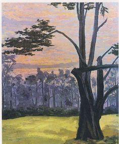 Winston Churchill - Sunset Near Roehampton