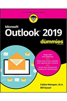 Get up to speed with the world's best email application ― Outlook 2019 Of the millions of people who use Outlook, most only use about two percent of its features. Don't stay in the dark! Outlook 2019 For Dummies shows you how to take advantage of often-overlooked tips and tricks to make it work even better for you. #outlook #365 #technology #computer #business Got Books, Books To Read, Outlook 2019, Outlook 365, Positive Outlook, Microsoft Applications, Email Application, Fun Math Games, Test Games