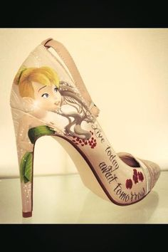 #tinkerbell #shoe #highheel