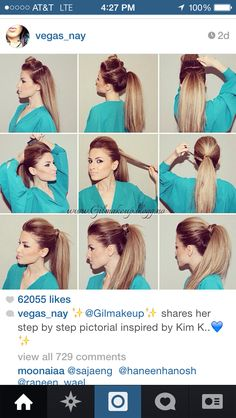 How to do the best ponytail!