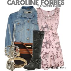 Inspired by Candice Accola as Caroline Forbes on The Vampire Diaries