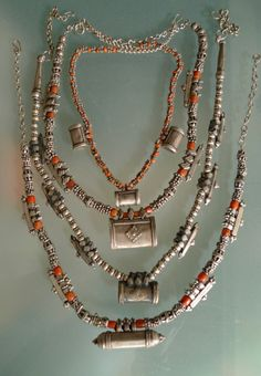 Yemen Silver and Coral