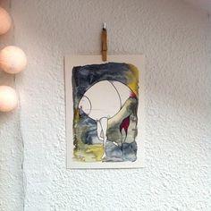 """Lámina WILD THINGS VI.Colección """"Wild Things""""Edición Limitada  firmada por Marina Guiu.Impresión digital sobre papel Conqueror de 300 gr.Medida A4 (21 x 29,7 cm).Para más información:espacio-store@hotmail.com"""