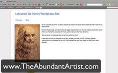 How to Build an Artist Website with Wordpress. http://theabundantartist.com/community One of the biggest pieces of feedback that I received ...