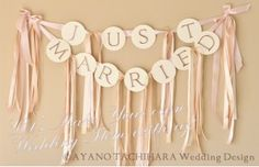 Match Color Garland by AYANO TACHIHARA Wedding Design