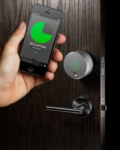 167ae7e9096 Meet August  The Smartphone-Powered Deadbolt