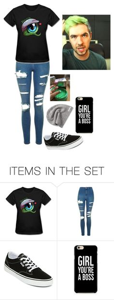 """#JackSepticEye"" by floosky10629 ❤ liked on Polyvore featuring art and Jacksepticeye"