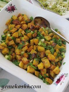 Hardallı Kızarmış Patates Salatası