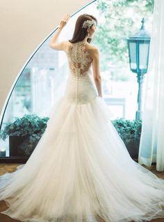 Mermaid Wedding, Dress Ideas, Wedding Dresses, Fashion, Clothing, Bridal Dresses, Moda, Bridal Gowns, Wedding Gowns