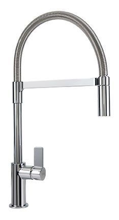 Franke's Ambient family offers homeowners and designers a full assortment of faucets. Sleek, contemporary and eco-friendly, the Ambient series is an ideal addition to any modern kitchen. Kitchen Fixtures, Kitchen Faucets, Save Water, Maine House, Franke Taps, Kitchen Design, Home Improvement, Chrome