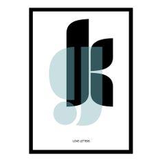 Graphic design. muui.dk. Interior. Home. love letters