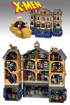 X-Men Mansion LEGO Set Unveiled, Comes with Danger Room and Mutant Minifigs - TechEBlog