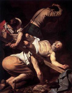 Caravaggio - Crocifissione di San Pietro - 1604-1605