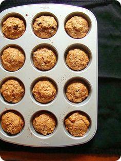 vegan zucchini bread muffins