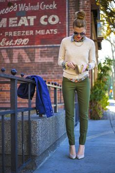 I love Fresh Fashion: Fresh Fashion Trends October 2014 // don't like the trousers but hey