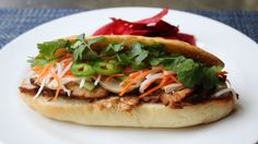 Learn how to make a Banh Mi Sandwich recipe! Visit http://foodwishes.blogspot.com/2016/01/banh-mi-more-than-sandwich.html for the ingredients, more informati...