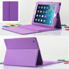 Reliable For iPad 2 3 4 Bluetooth Silicone Keyboard Stand Leather Case Cover Mini Keyboard
