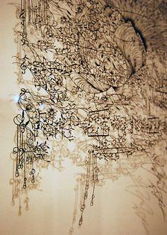 delicate paper cutting | Hina Aoyama