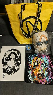 Ebay Link Pax West 2019 Borderlands 3 Swag Bag T Shirt M L Pin Art Prints And Mask Entertainment Memorabilia Video Borderlands Video Game Borderlands 3
