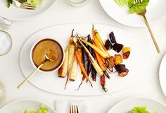 Balsamic Miso Root Salad - sounds like a nice dressing for regular salads as well