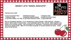 Marcy Jo's Angel Biscuits
