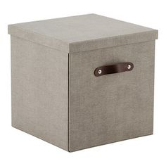 ~20 Add a touch of elegance to your living space with our Bigso Marten Cubes. These are the perfect choice for general storage for any area of the home! Use in the living room, family room or home office. The exterior has the look and feel of canvas with a leather handle and they perfectly coordinate with our entire Marten Collection