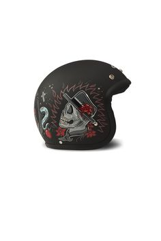 Casque DMD Vintage Poison