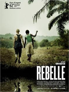 Movie - filmmaker Kim Nguyen paints a poignant and harrowing portrait of Komona, a 14-year-old girl (wonderfully played by nonprofessional actress Rachel Mwanza) who has been kidnapped from her African village by rebels to become a child soldier.