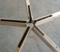 Geodesic dome connectors. / Domos Geodesicos y sus Nudos