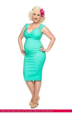 Win Retro Maternity Wear from PinUp Girl Clothing and MomCaveTV.com, vintage inspired retro maternity dresses