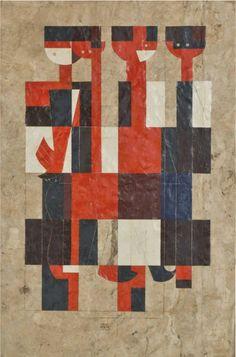 'Quicab el Abuelo' (1970) by Carlos Mérida