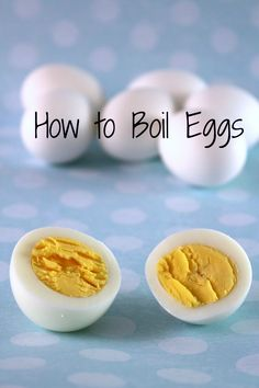 Learn How to Make Hard Boiled Eggs (the easy way!) This how-to is super helpful!