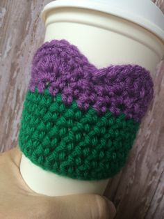 Always be yourself...unless you can be a mermaid. Then be a mermaid. Coffee cozy.