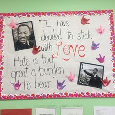valentines day black history month bulletin board - Google Search