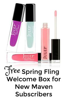 It's been a long winter and just in time for warmer temperatures and sunny skies, Julep has a new Maven subscriber welcome box offer that you will love. Fun brights and a top-notch beauty bonus is what you will receive in the Spring Fling Welcome Box and it's free for new Maven subscribers (a $62 …