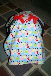 [loveable] chaos: DIY Carseat Cover