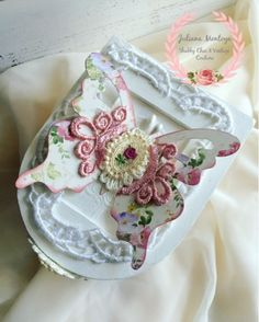 ILuvVintageScrap: Shabby Chic Box of Butterflies