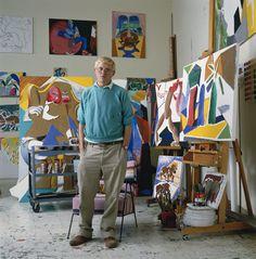 Glenda's Best of Britain:  2) Artist David Hockney