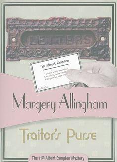 Traitor's Purse (Albert Campion) by Margery Allingham http://www.amazon.com/dp/1934609420/ref=cm_sw_r_pi_dp_.uxuvb08AJ6R2
