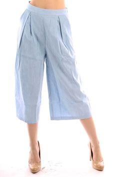 Classiques Entier Atelier Wide Leg Capri Pants | Stitch Fix ...