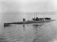 BRITISH SHIPS FIRST WORLD WAR (SP 22) HM Submarine S.1
