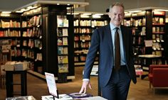 Whisper it quietly, the book is back … and here's the man leading the revival  --  Waterstones chief executive James Daunt --  The pleasures of reading morph into the aesthetic delights of print and paper. Reading a favourite novel on a screen is like tasting a vintage wine through a straw. The unintended consequence of the ebook, Daunt reports, has been to make many readers return to the hardback.