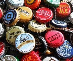 Mixed lot of 50 Beer Bottle Caps,Beer craft, Beer art, Bulk Beer Caps Beer Cap Art, Beer Bottle Caps, Bottle Cap Art, Bottle Cap Crafts, Beer Bottles, Bottle Top, Diy Bottle, Plastic Bottle, Beer Cap Crafts