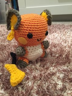 Raichu was created for a friend of mine, who saw my adaptation of @53stitches​ Pikachu Pattern and requested a big brother version. Hopefully this pattern makes sense…. [[MORE]]Please note that I'm...