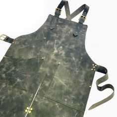 Amazing distressed black/grey leather, will be gorgeous as it ages! A timeless piece... Chat with me if you want one made like this for you.