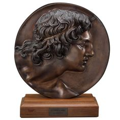 "Italian Handcrafted Bronze of ""Alessandro Magnofirmato"" (Alexander the Great) 