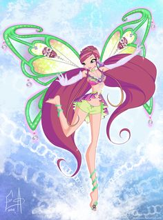 Roxy 'Magical Concert by on DeviantArt Winx Club, Roxy, Dessin Animé Lolirock, Les Winx, The Last Unicorn, Barbie Movies, Walt Disney, Fairytale Fantasies, Club Outfits