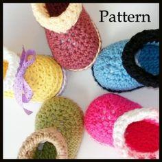 crochet pattern chaussons verser bbs gifle bottes par genevive sur etsy