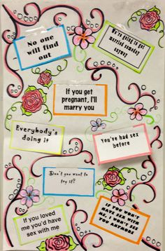 Help your students be assertive to sexual pressure lines!! This is an impactful lesson and a fun art project.  My students get really creative with these!  Cost-6.00